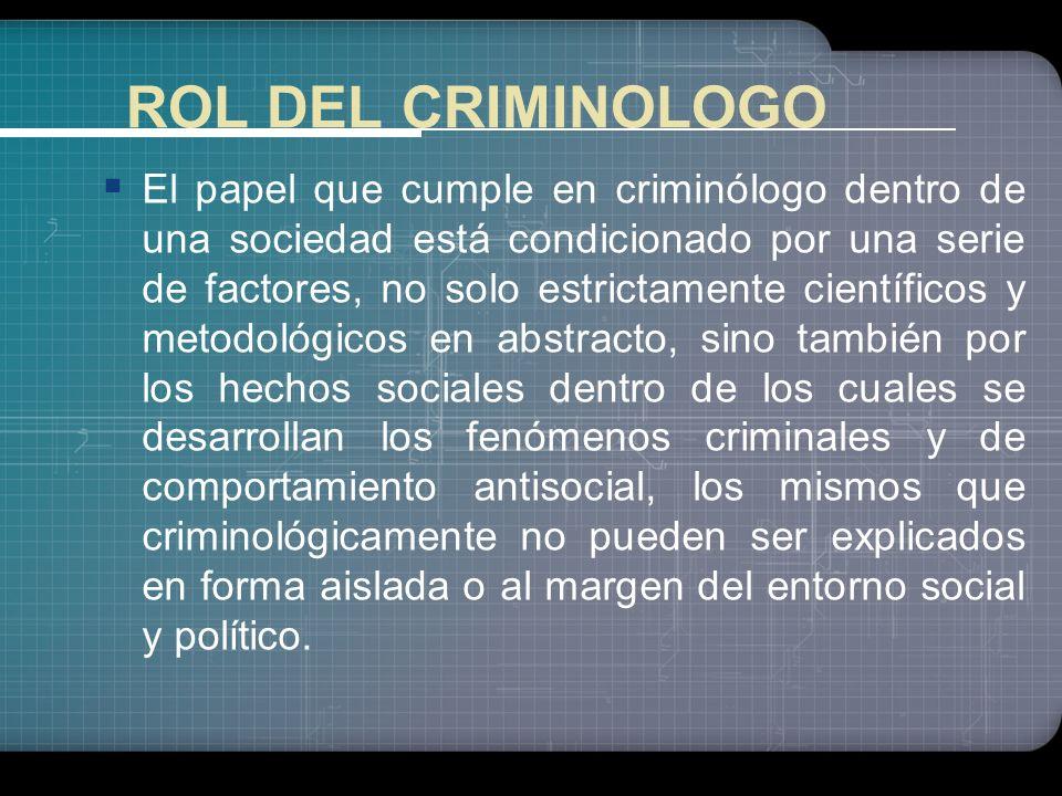 En la Administración de Justicia La evaluación del presunto autor del delito o acto antisocial Entendimiento del Principio de Co culpabilidad de la so
