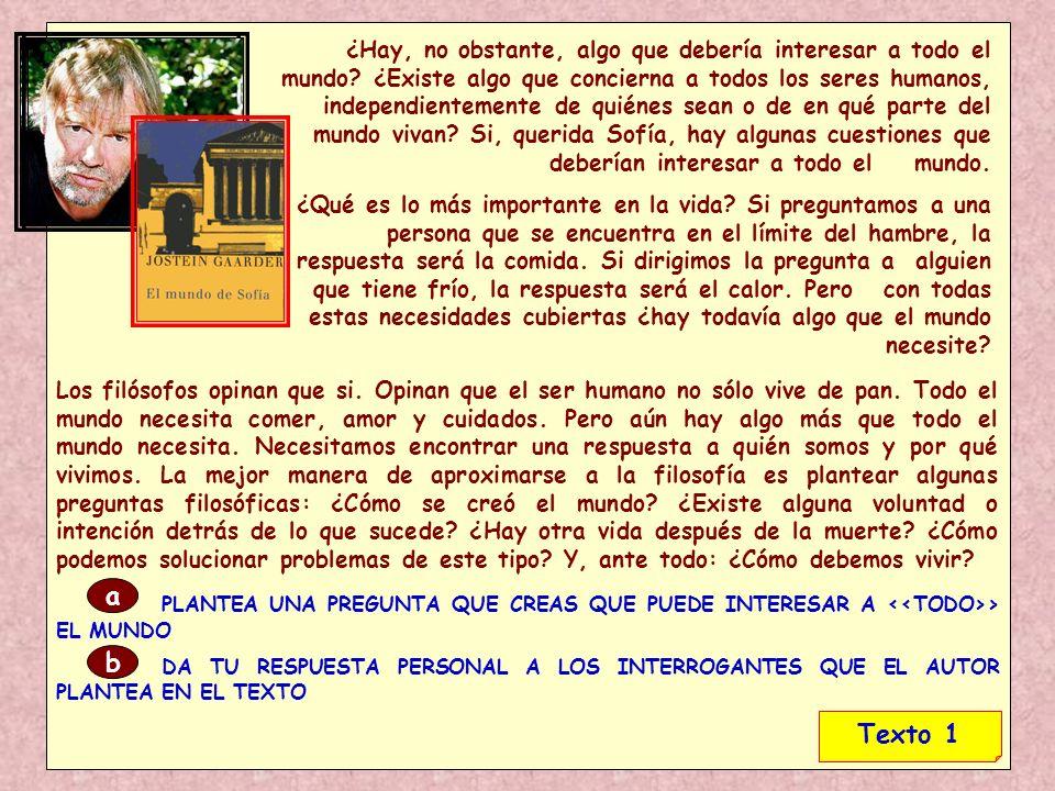 1.2.Origen y naturaleza del saber racional.