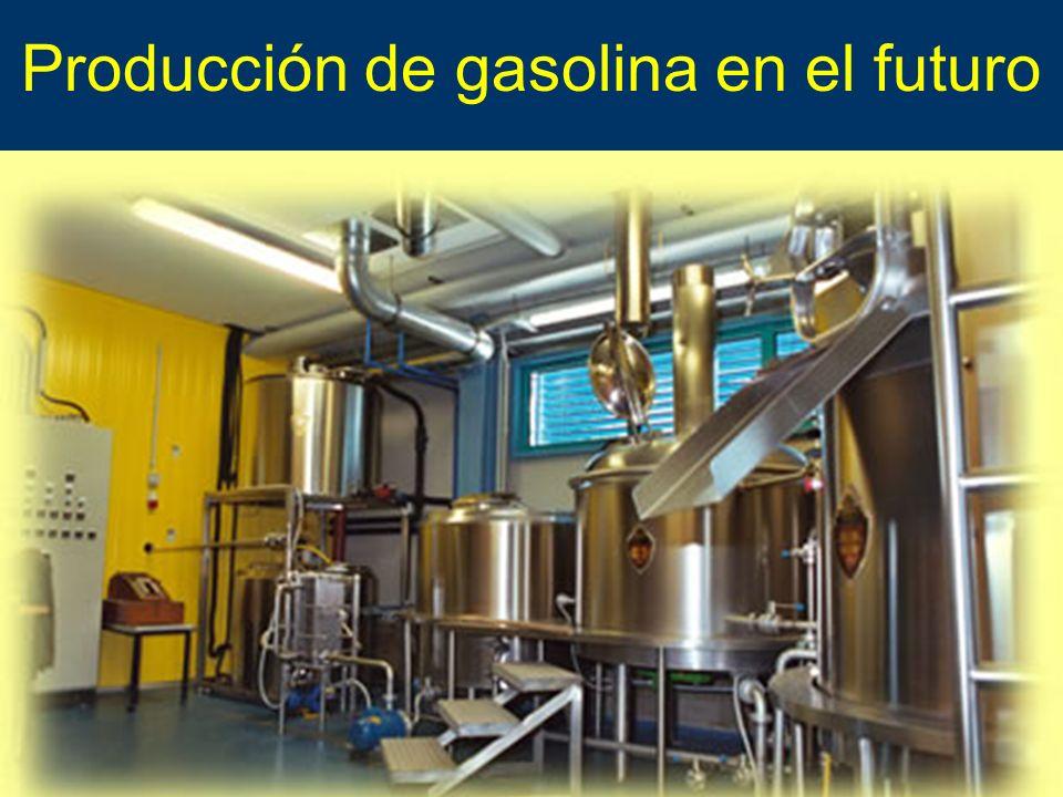 Producción de gasolina en el futuro