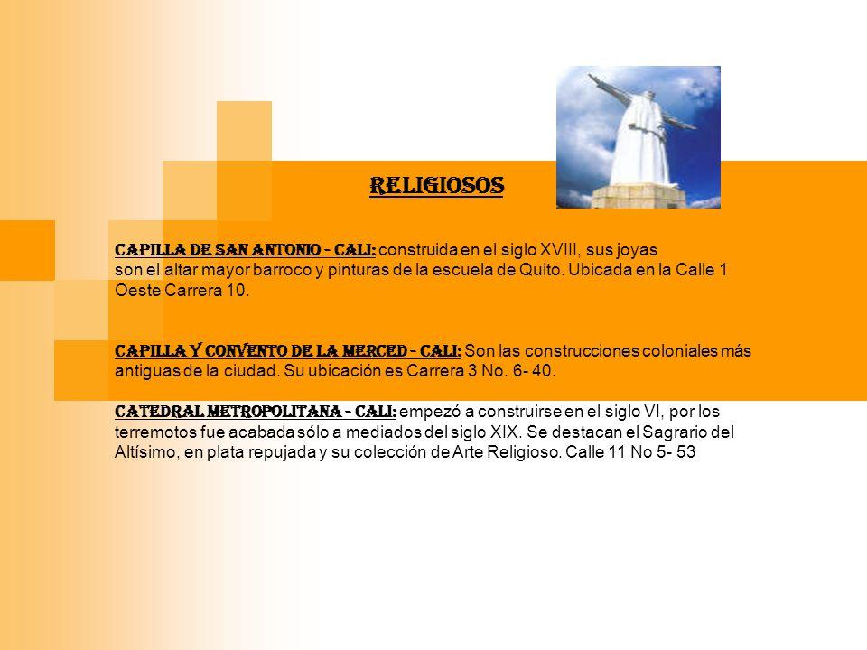 MUSEOS MUSEO DE ARTE COLONIAL RELIGIOSO - Cali : Es el más bello Museo de Arte Colonial en Colombia.