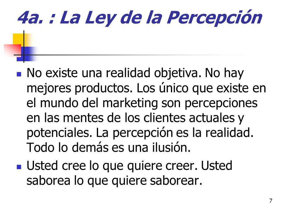 13ª.: La ley del Sacrificio b) Mercado meta : Dónde está escrito que una empresa va a atraer a todo el mundo .