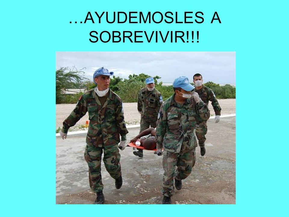 …AYUDEMOSLES A SOBREVIVIR!!!