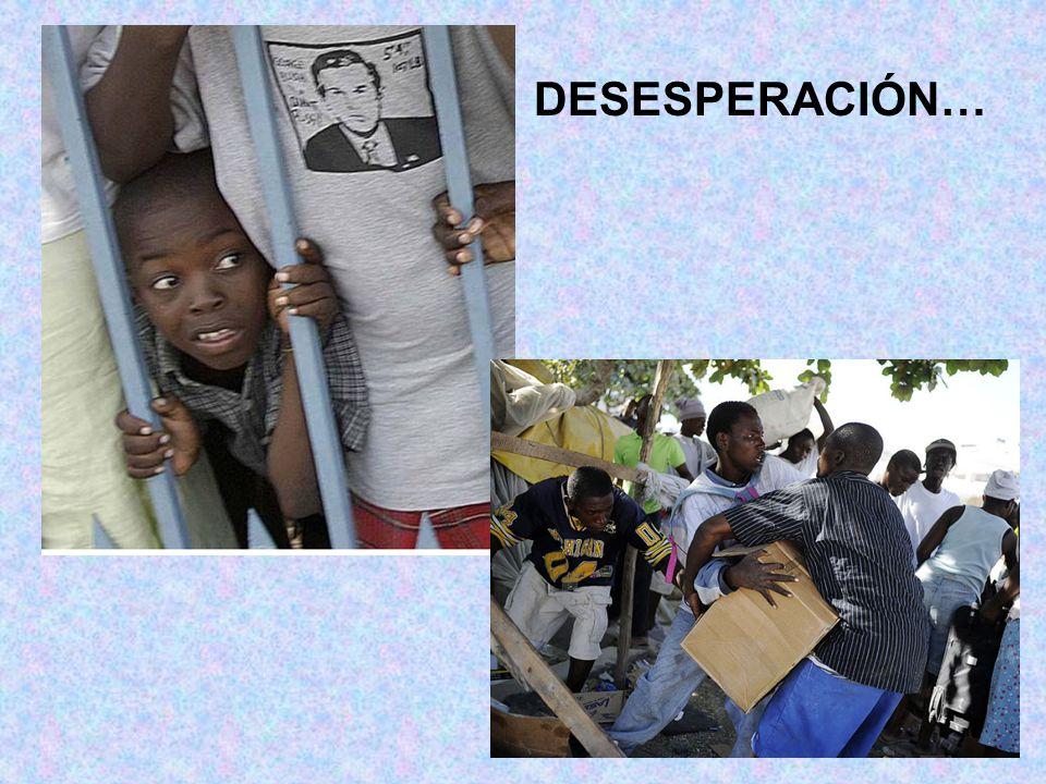 DESESPERACIÓN…