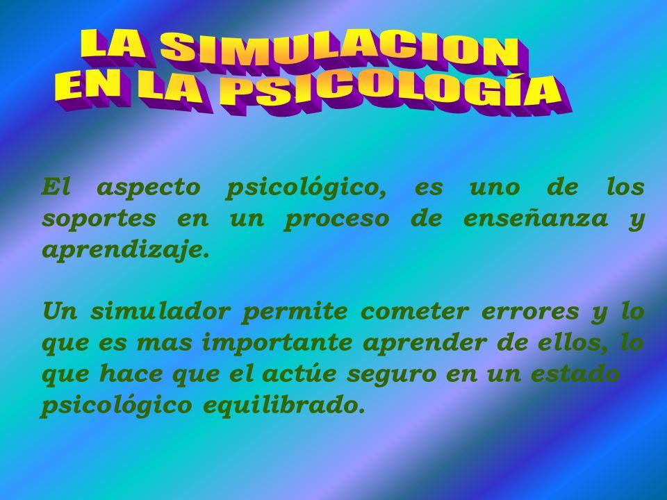 HIPERMEDIA: Simulación multisensorial. Se tiene un acceso directo al escenario de la simulación, tocando la pantalla o mediante sensores especializado