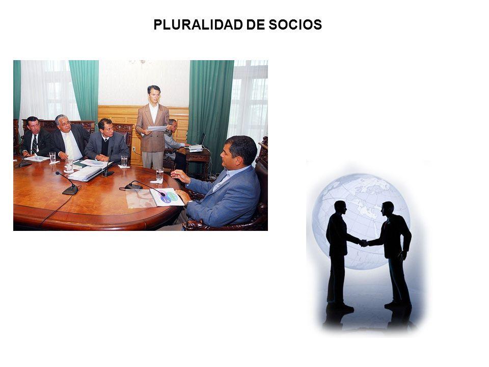PLURALIDAD DE SOCIOS