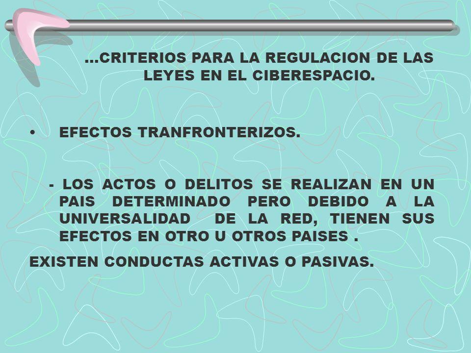 LA PROPIEDAD INTELECTUAL EN EL CIBERESPACIO.