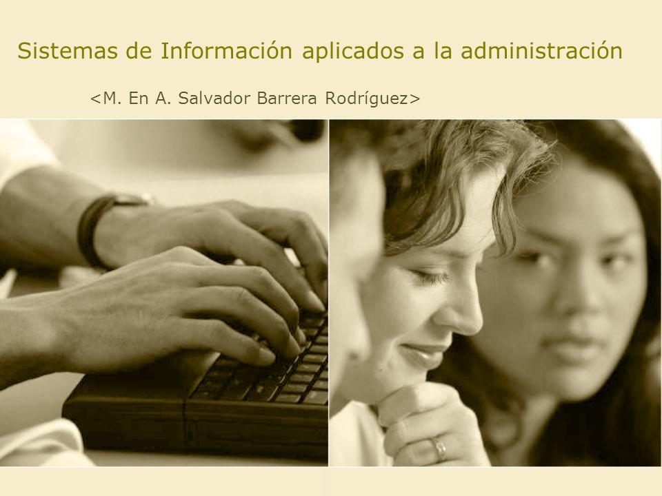 Sistemas de Información aplicados a la administración
