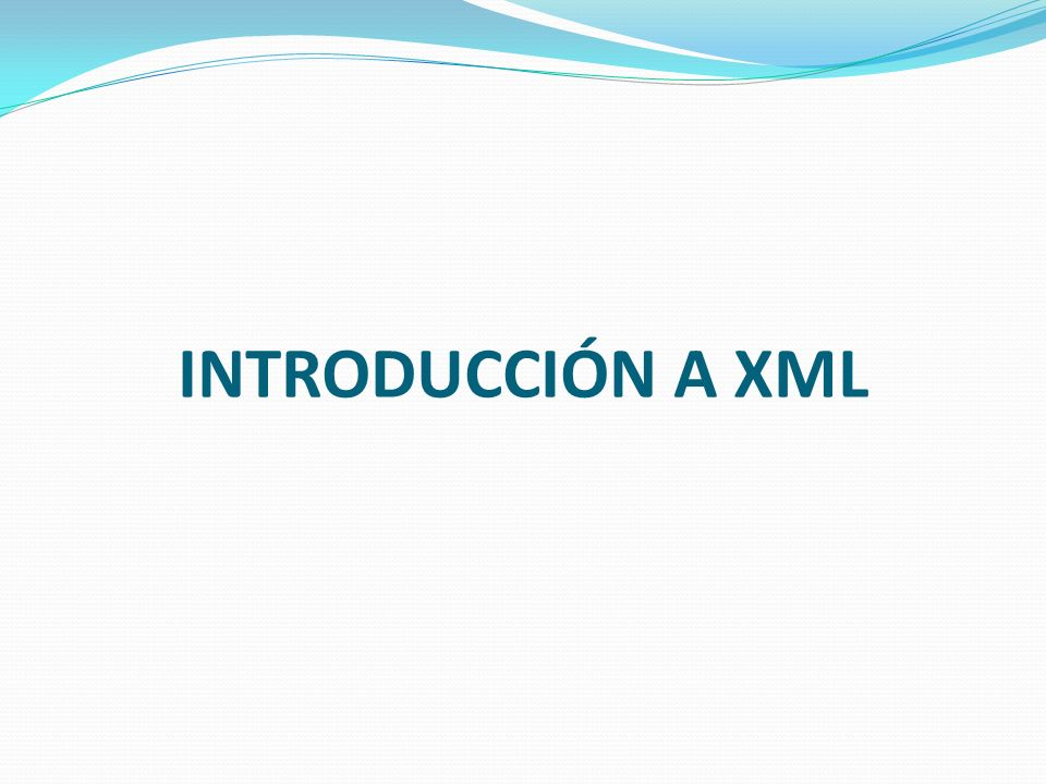 Documento XML bien Formado Los documentos denominados como bien formados son aquellos que cumplen con todas las definiciones básicas de formato y pueden, por lo tanto, analizarse correctamente por cualquier analizador sintáctico (parser) que cumpla con la norma.
