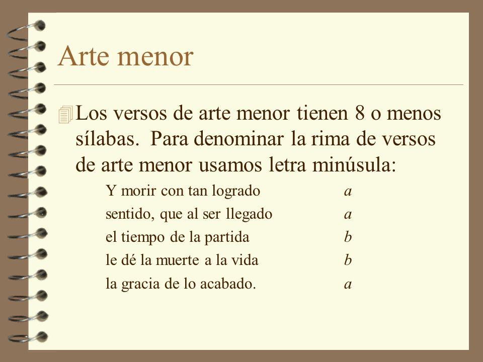 Ritmo 4 El ritmo interno es la ordenada sucesión de acentos y cesuras dentro del verso.