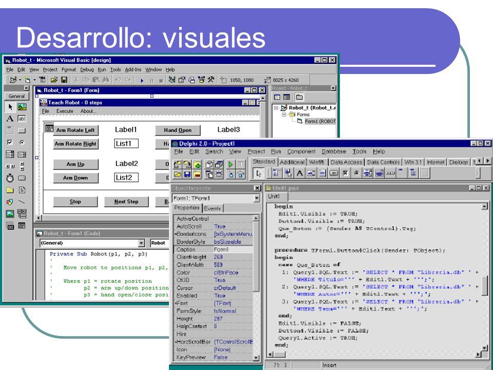 Desarrollo: visuales