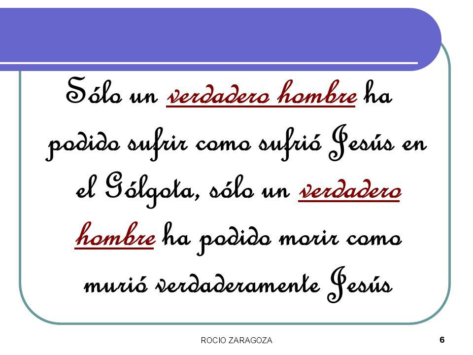 ROCIO ZARAGOZA17 ¿Sabía todo porque era Dios.