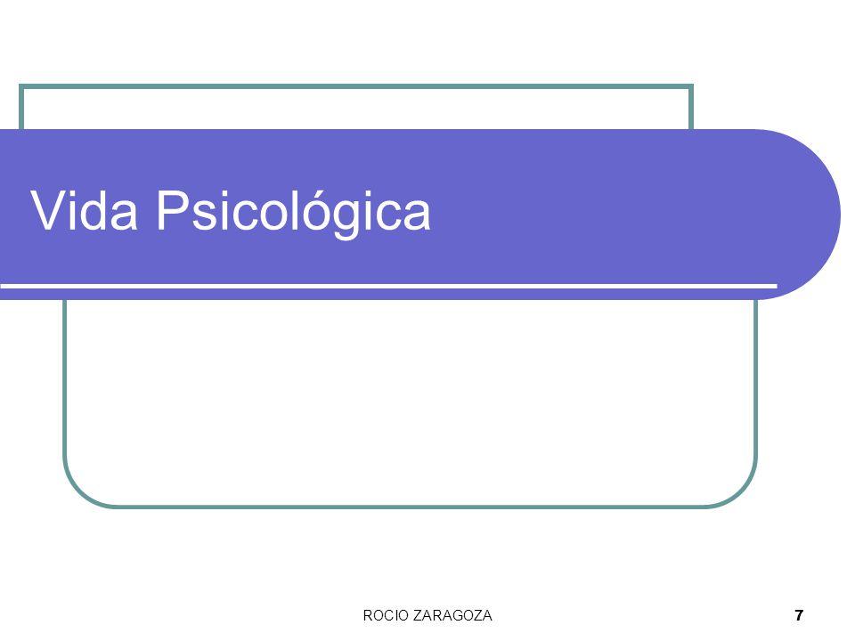 ROCIO ZARAGOZA8 Yicev = psiqué = Alma Aristóteles = principio vital.
