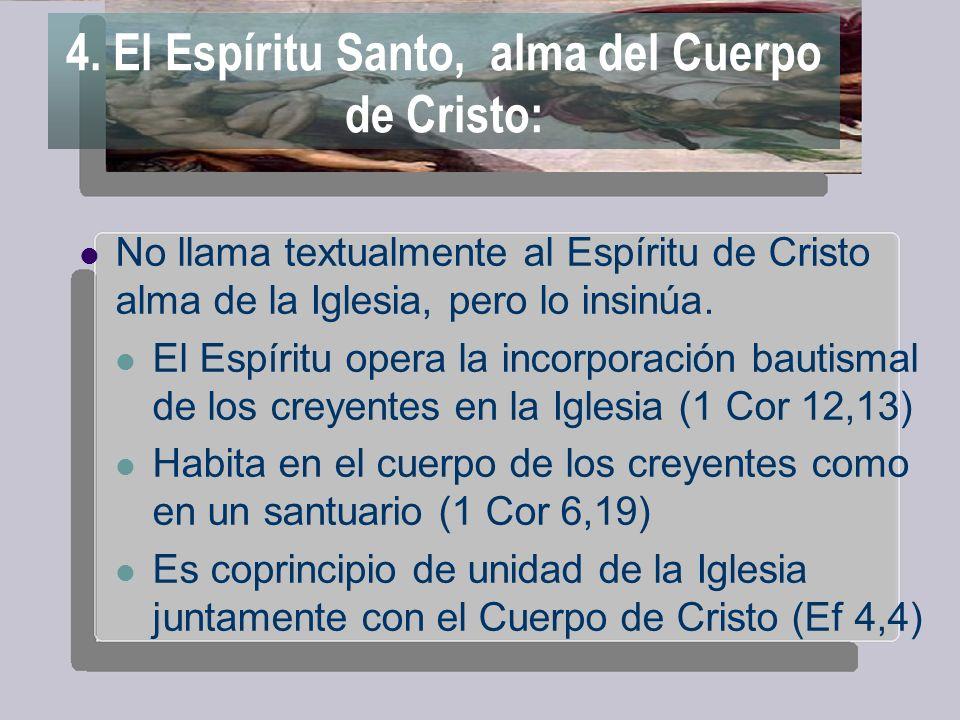 La tradición: los SSPP EL Cristo total es la cabeza y el cuerpo.