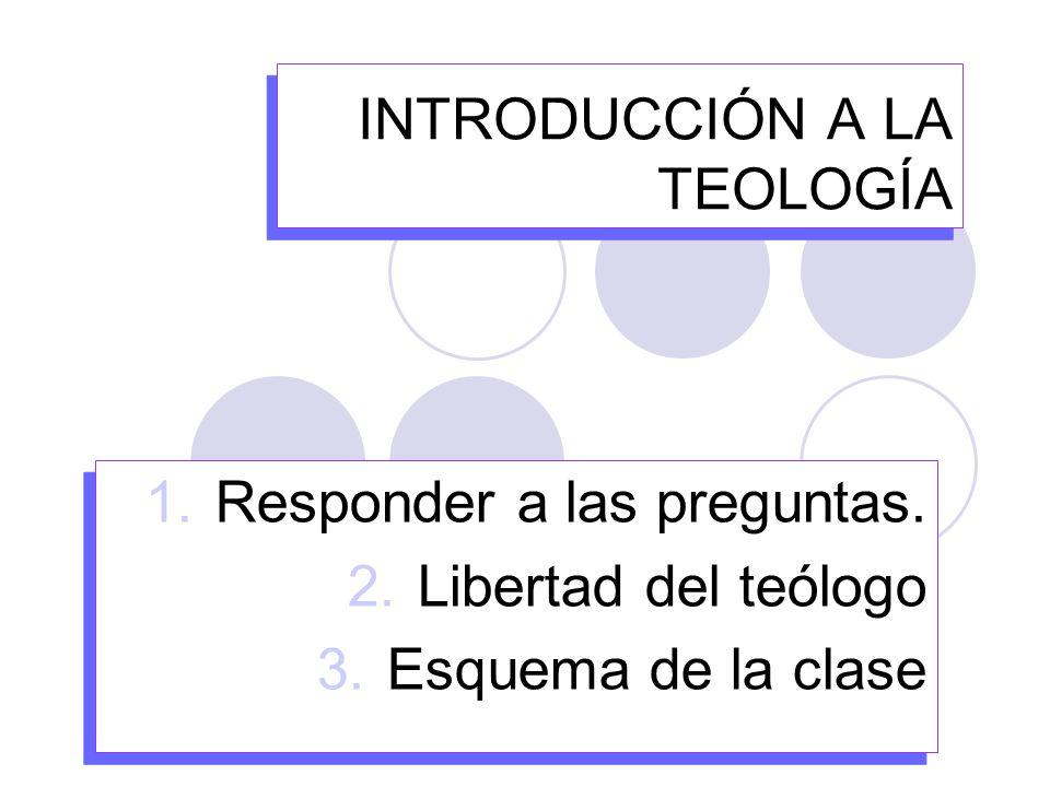 ROCIO Z INT TEOL CAP42 Para algunos, el Magisterio es un estorbo para la libertad del Teólogo y se reconoce como una voz más, equiparada a cualquier otro teólogo o grupo de teólogos.