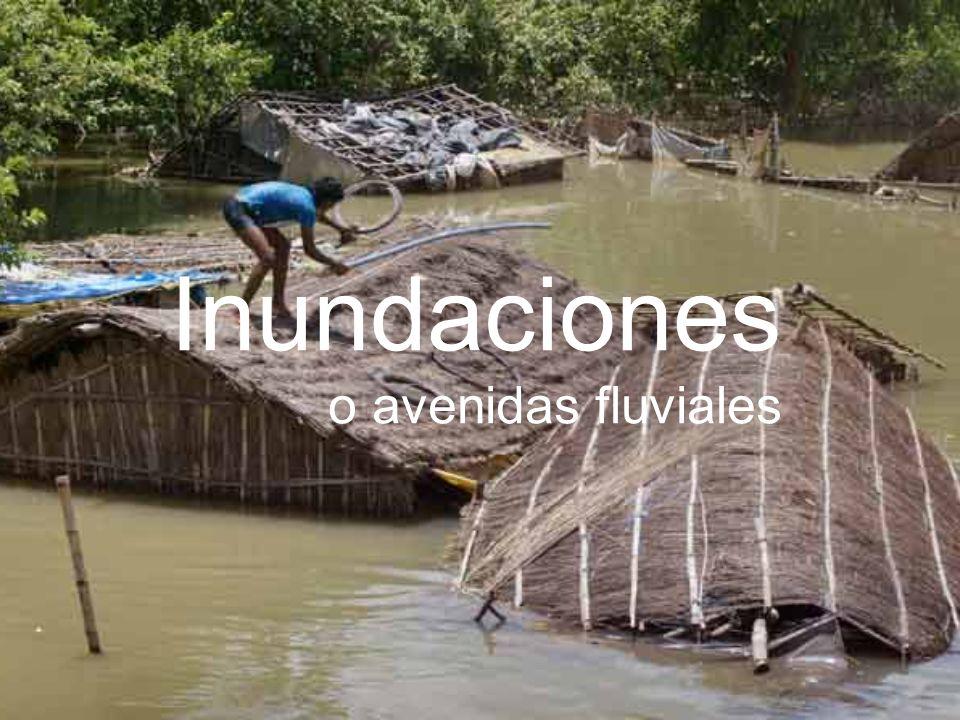 Inundaciones o avenidas fluviales