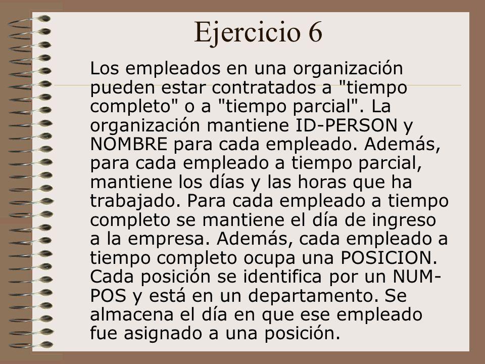 Ejercicio 7 Una organización de exposiciones mantiene información sobre pinturas y esculturas.