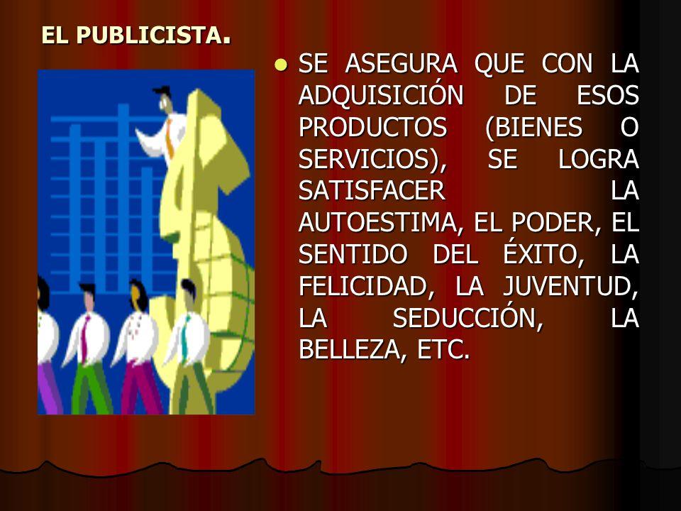 EL MENSAJE PUBLICITARIO ES EL RESULTADO DE LOS CÓDIGOS QUE LO CREAN, SEGÚN EL MEDIO O CANAL QUE SE UTILIZARÁ (VISUAL, SONORO, GRÁFICO).: ES EL RESULTADO DE LOS CÓDIGOS QUE LO CREAN, SEGÚN EL MEDIO O CANAL QUE SE UTILIZARÁ (VISUAL, SONORO, GRÁFICO).: 1.