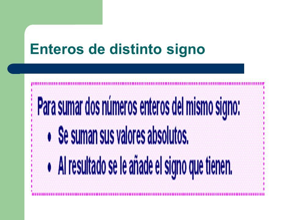 Completar: >, < o = -12+10-40-100 -6 -3 +15 -30 +45
