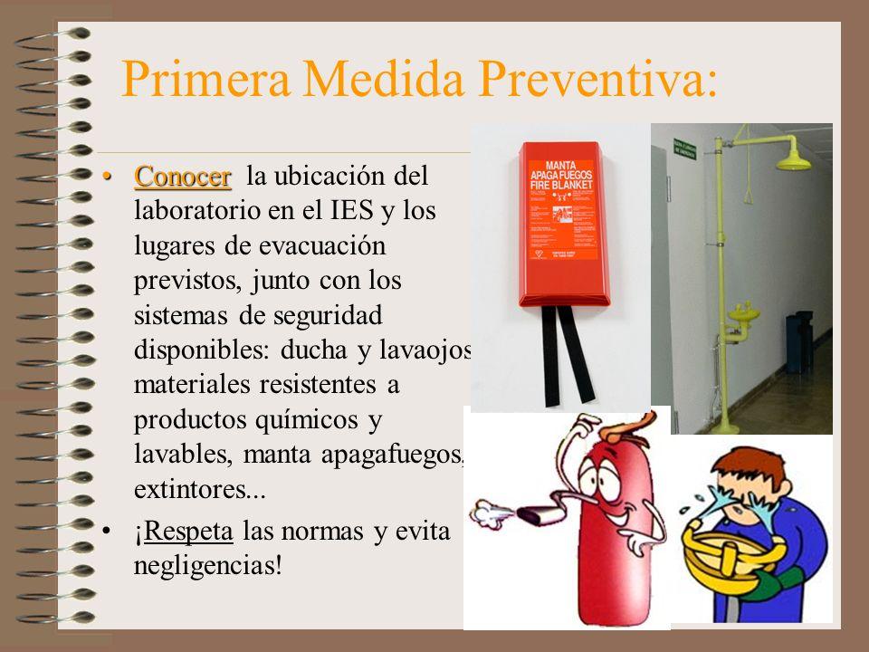 Riesgos del trabajo en el Laboratorio: Riesgos Químicos Riesgos Físicos Riesgos Biológicos.