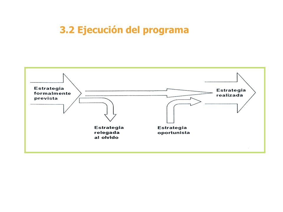 3.2 Ejecución del programa