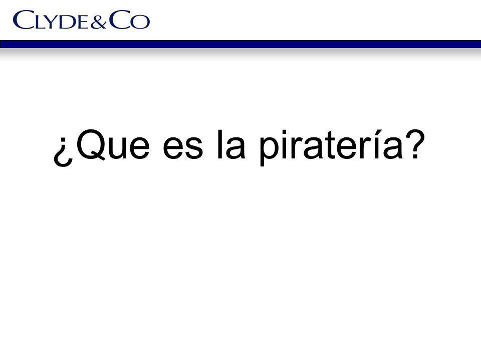 ¿Que es la piratería?