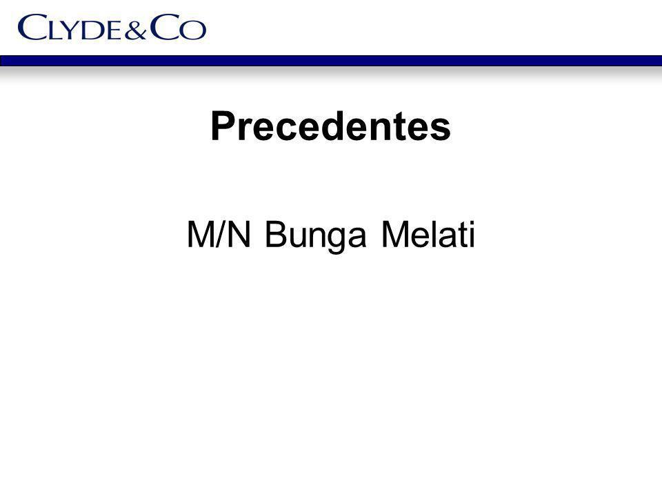Precedentes M/N Bunga Melati
