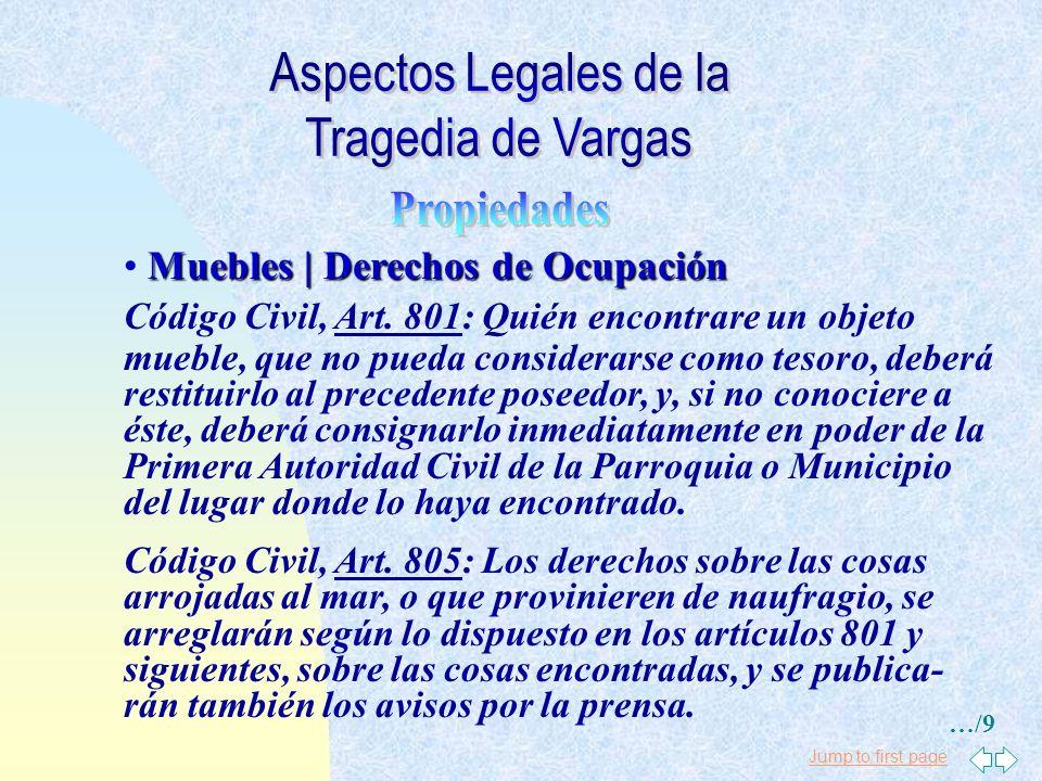Jump to first page Acreedores Desaparecidos Acreedores Desaparecidos: * Derechos a Sucesores * Derechos contra Sucessores Código Civil, Art. 1.110: Lo