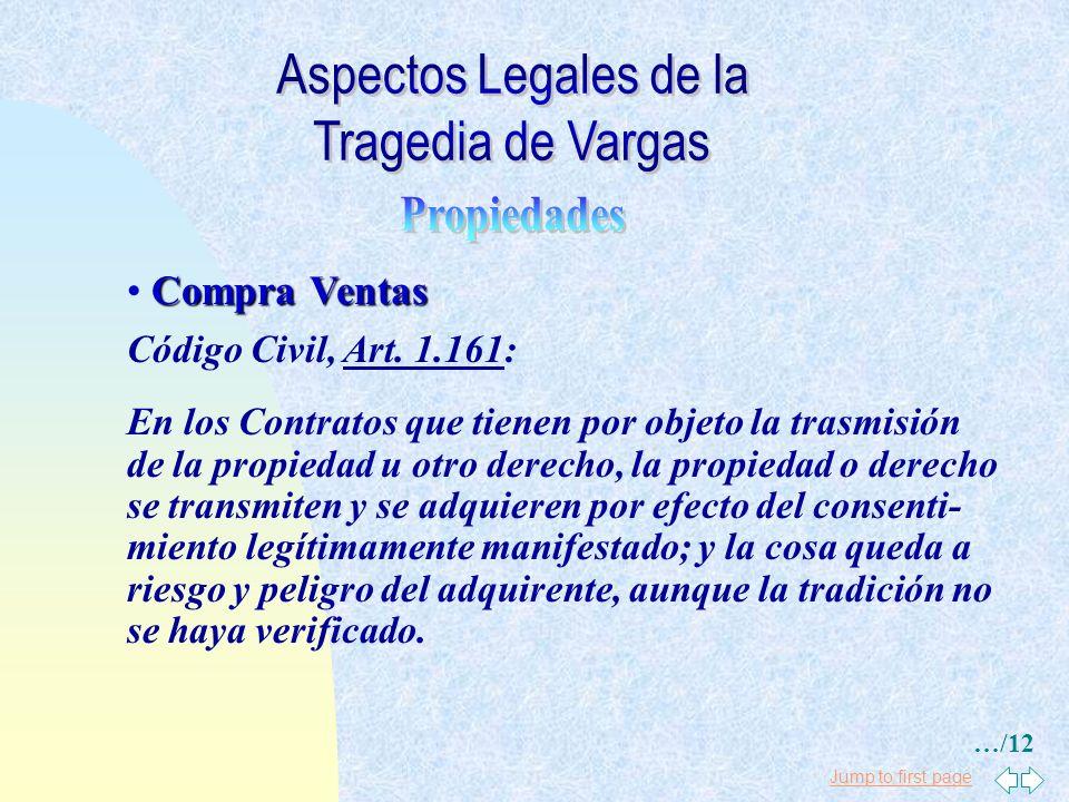 Jump to first page Arrendamientos Código Civil, Art. 1.588: Sí durante el arrendamiento perece totalmente la cosa arrendada, queda resuelto el Contrat