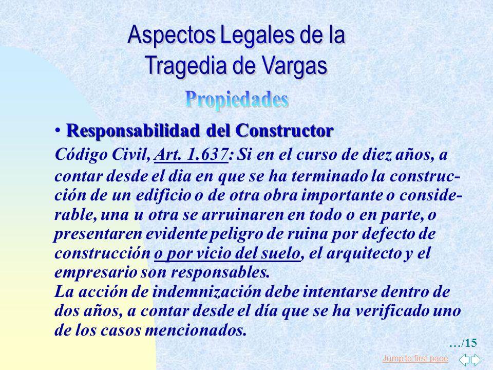 Jump to first page Contratos de Construcción (obras) Código Civil, Art. 1.634: Si quién contrató la obra se obligó a poner el material, debe sufrir la
