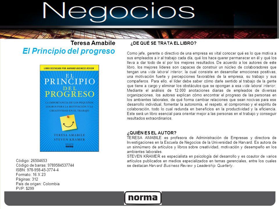 Código: 26504653 Código de barras: 9789584537744 ISBN: 978-958-45-3774-4 Formato: 16 X 23 Páginas: 312 País de origen: Colombia PVP: $299 ¿DE QUÉ SE T