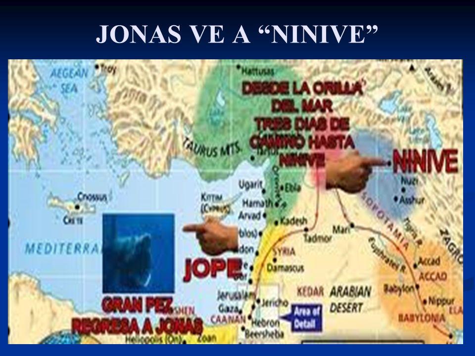 JONAS VE A NINIVE