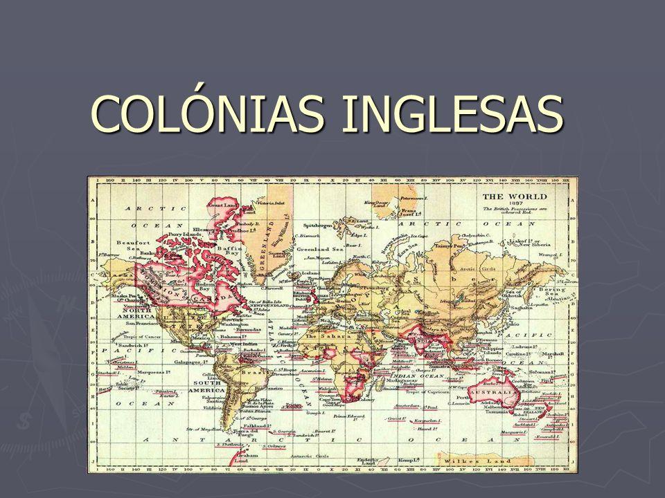 COLÓNIAS INGLESAS
