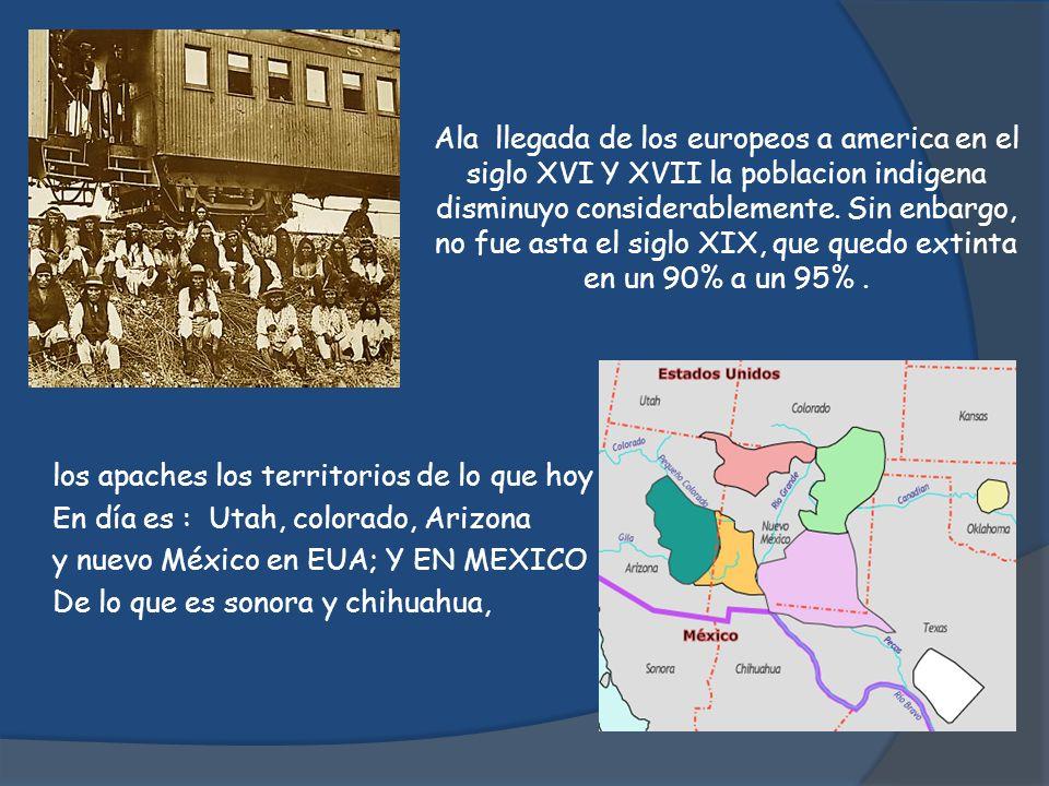 Ala llegada de los europeos a america en el siglo XVI Y XVII la poblacion indigena disminuyo considerablemente. Sin enbargo, no fue asta el siglo XIX,