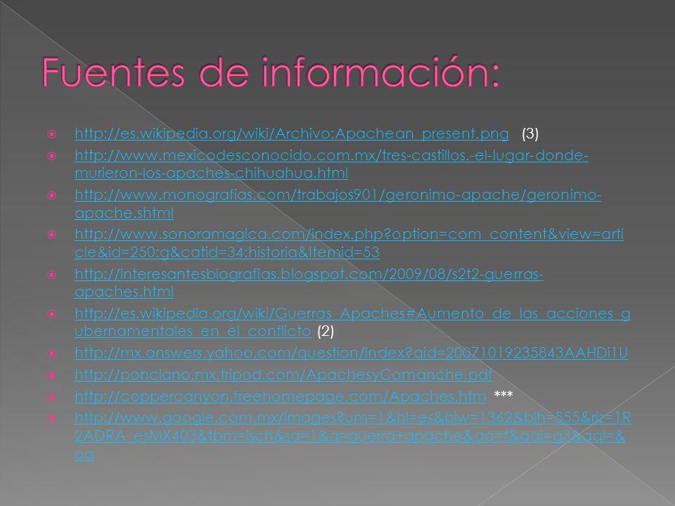 http://es.wikipedia.org/wiki/Archivo:Apachean_present.png (3) http://es.wikipedia.org/wiki/Archivo:Apachean_present.png http://www.mexicodesconocido.c