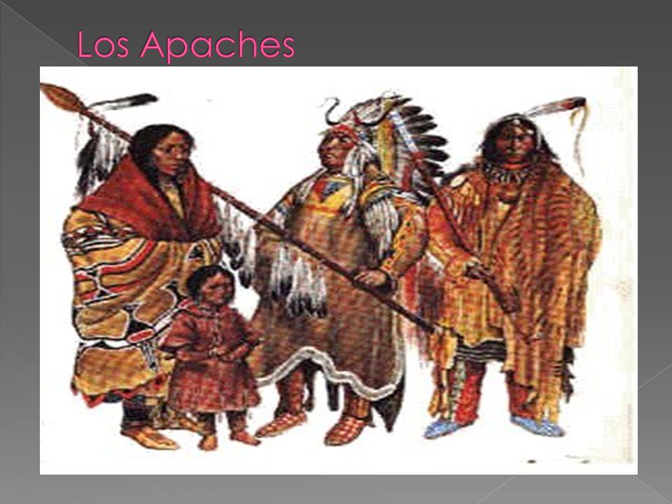 Pertenecen a la familia atapascana, al igual que sus hermanos navajos.