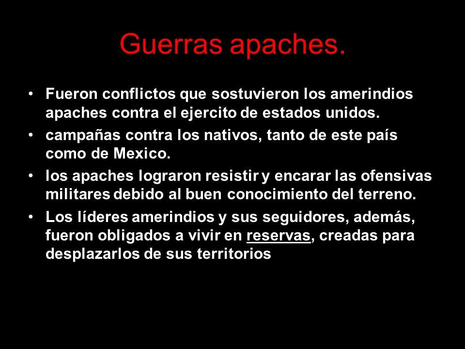 Guerras apaches.