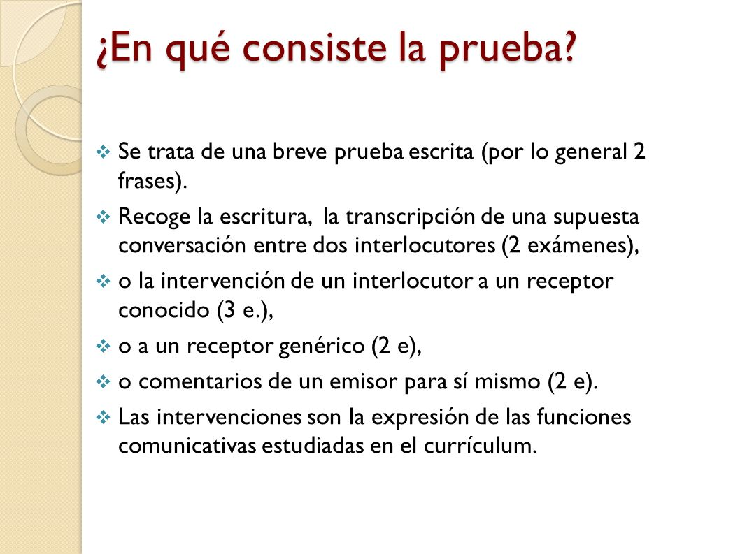 Preparando la prueba de comunicación 3 Los tipos de discurso que en la diapositiva 17 nos propone el MEN llamadas telefónicas encuentros de servicio (tiendas, ventanillas).