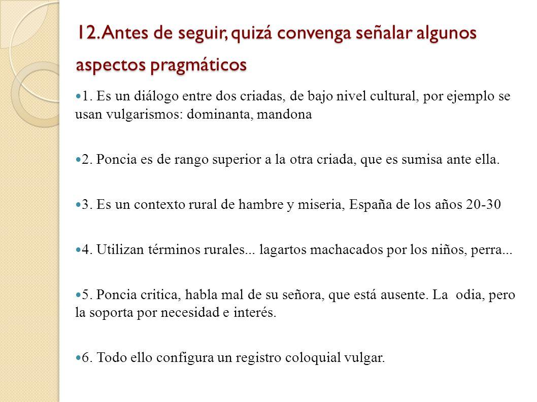 11. Clasificamos los exponentes según los recursos lingüísticos utilizados