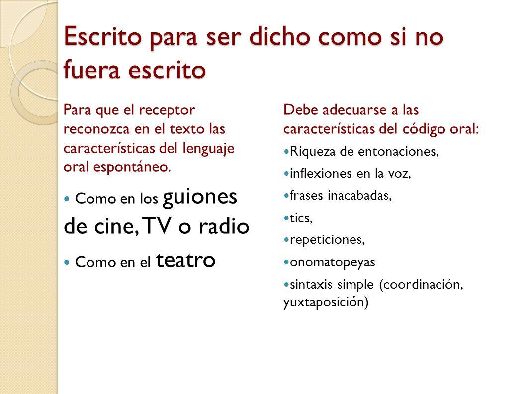 Es una prueba compleja, escrita, pero con aspectos del código oral Daniel Cassany, Describir el escribir, Paidós comunicación, Barcelona 2005, pg. 53