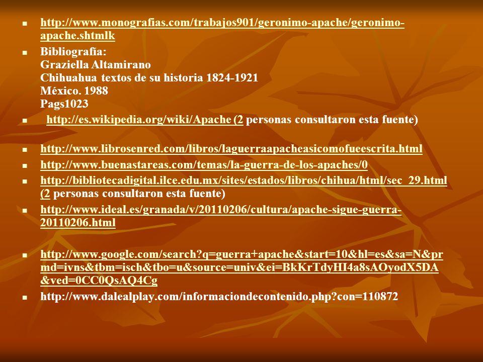 http://www.monografias.com/trabajos901/geronimo-apache/geronimo- apache.shtmlk http://www.monografias.com/trabajos901/geronimo-apache/geronimo- apache