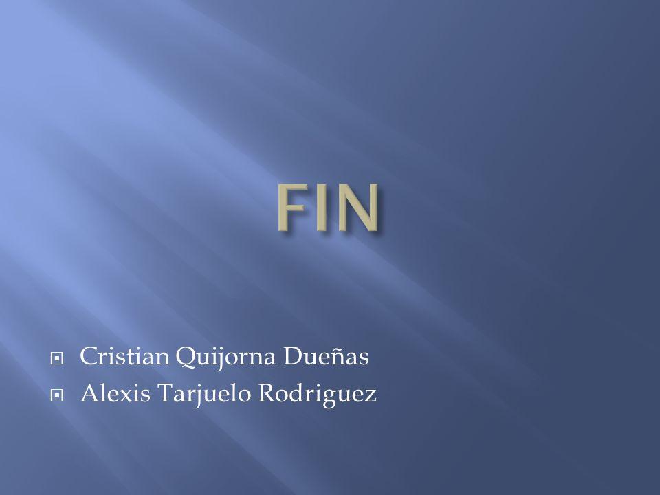 Cristian Quijorna Dueñas Alexis Tarjuelo Rodriguez