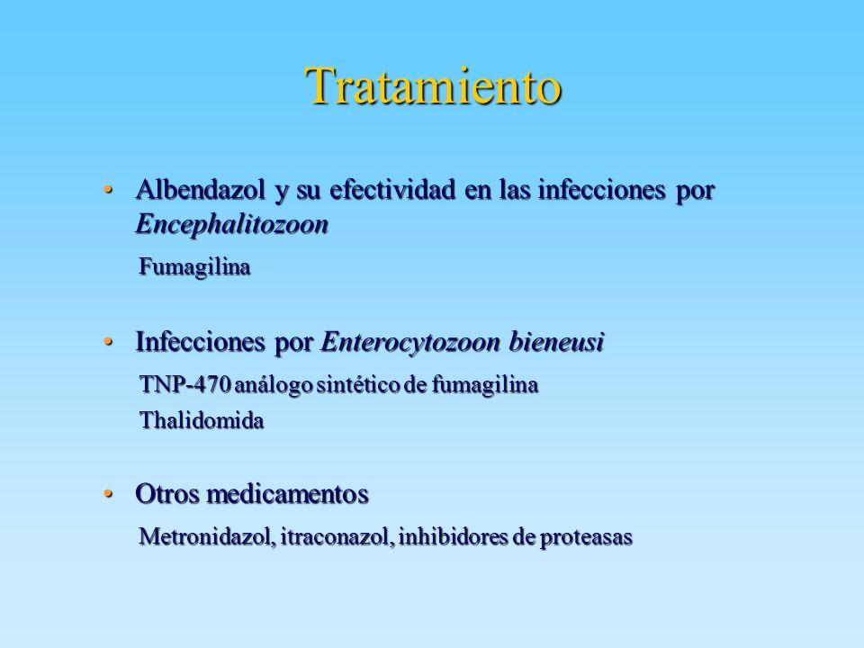 Tratamiento Albendazol y su efectividad en las infecciones por EncephalitozoonAlbendazol y su efectividad en las infecciones por Encephalitozoon Fumag