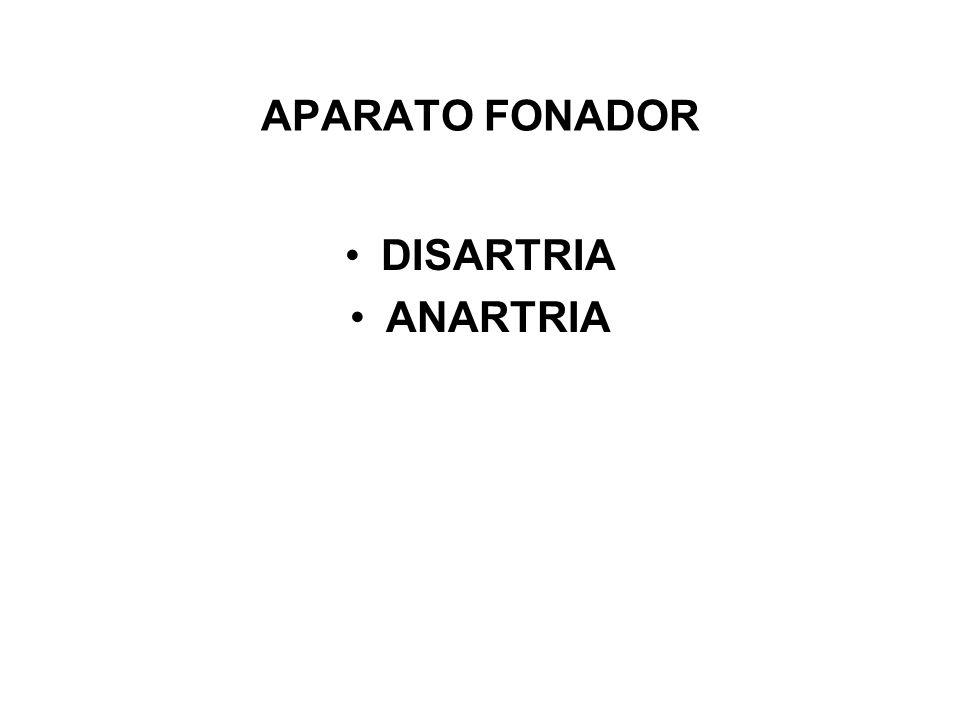APARATO FONADOR DISARTRIA ANARTRIA