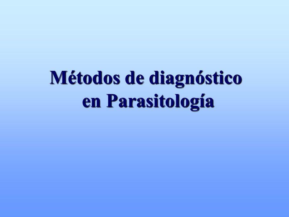 Métodos de diagnóstico en Parasitología en Parasitología