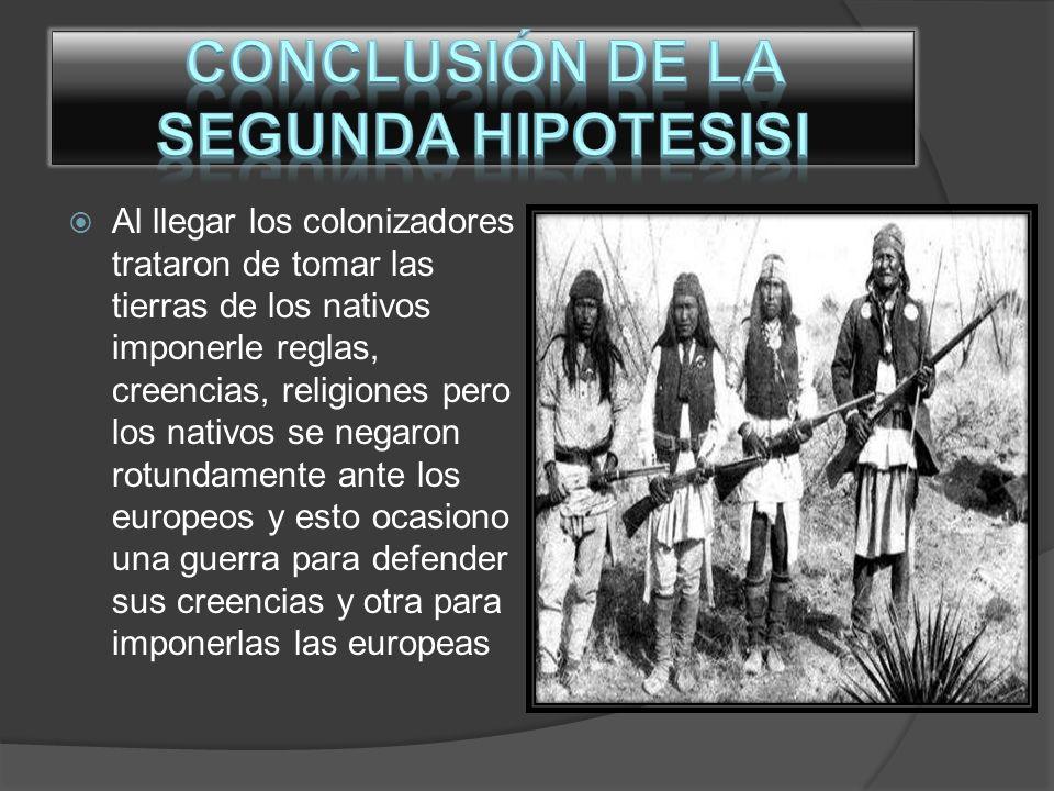 El gobierno de Estados Unidos y México tuvieron conflictos con los nativos ya que querían quitarles sus territorios y además cobrarles impuestos por vivir en sus territorios y esto ocasiono la guerra apache causando demasiadas muertes para ambos bandos