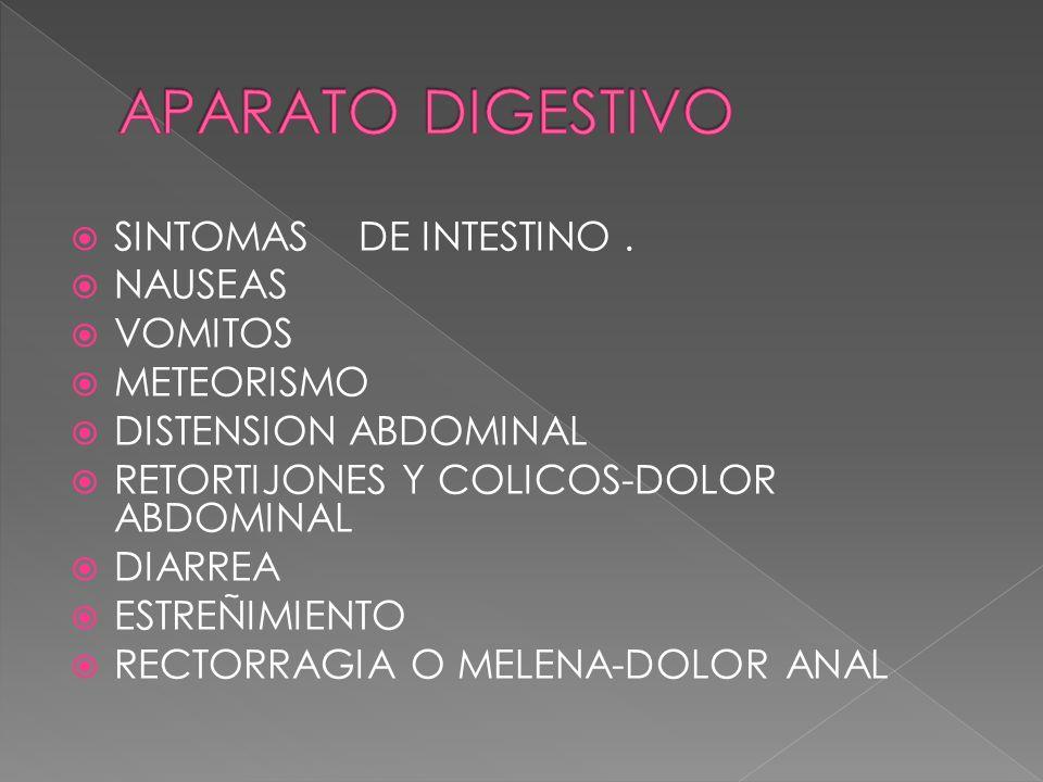SINTOMAS HEPATOBIOLIARES.