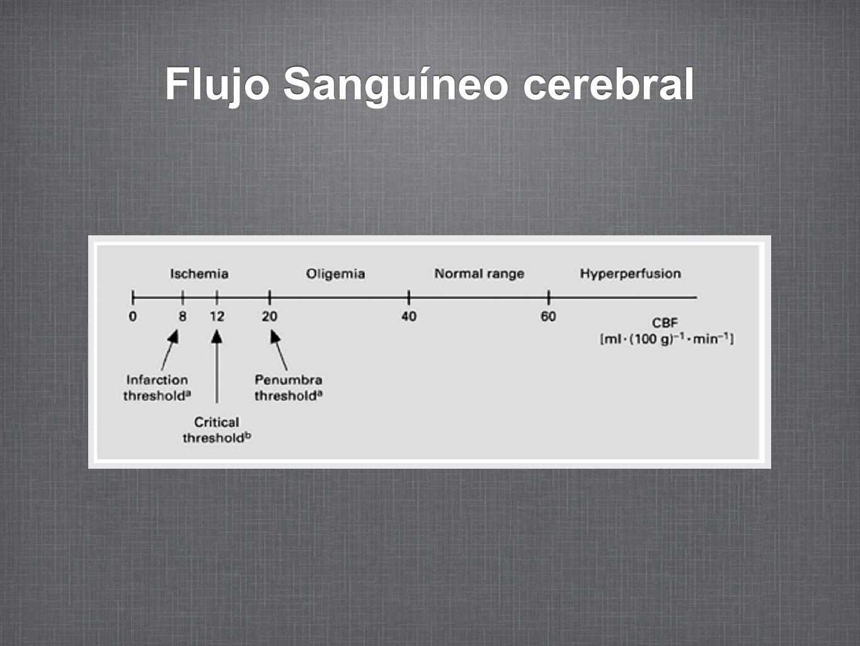 Flujo Sanguíneo cerebral