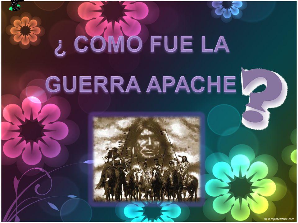 Las guerras apaches (1861-1886) fueron una serie de conflictos que sostuvieron los amerindios apaches contra el ejército de los Estados Unidos en el territorio de Arizona, en la segunda mitad del siglo XIX.