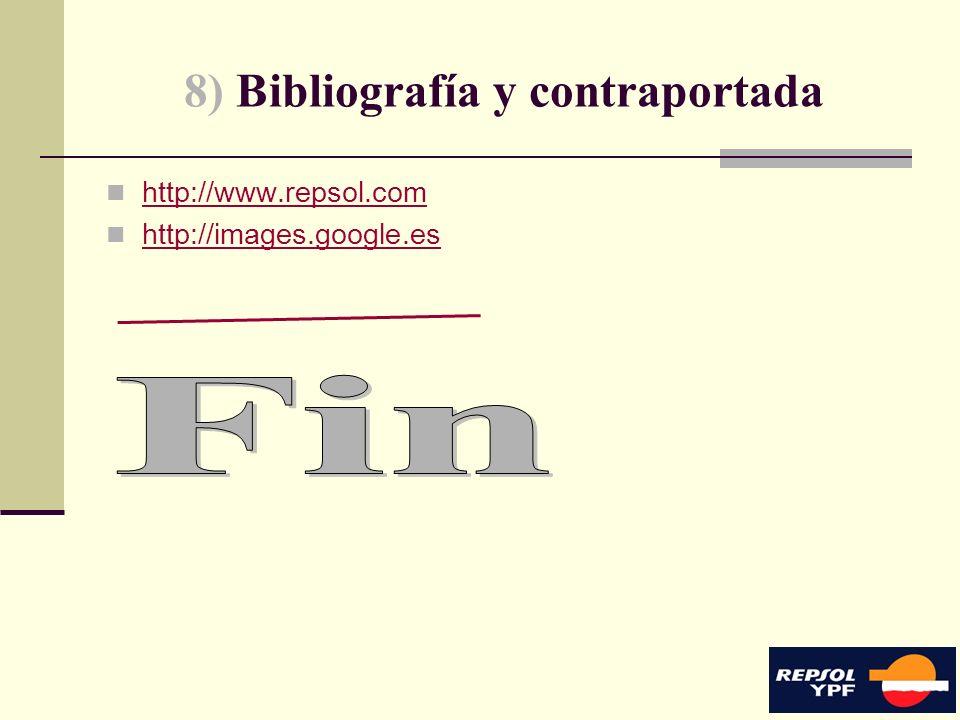 17 8) Bibliografía y contraportada http://www.repsol.com http://images.google.es
