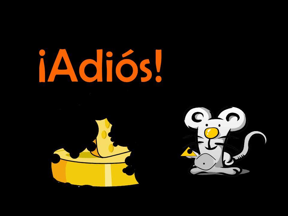 . ¡El ratón comió todo el queso!
